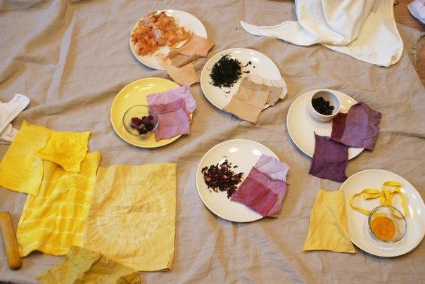 Крашение естественными красителями в домашних условиях